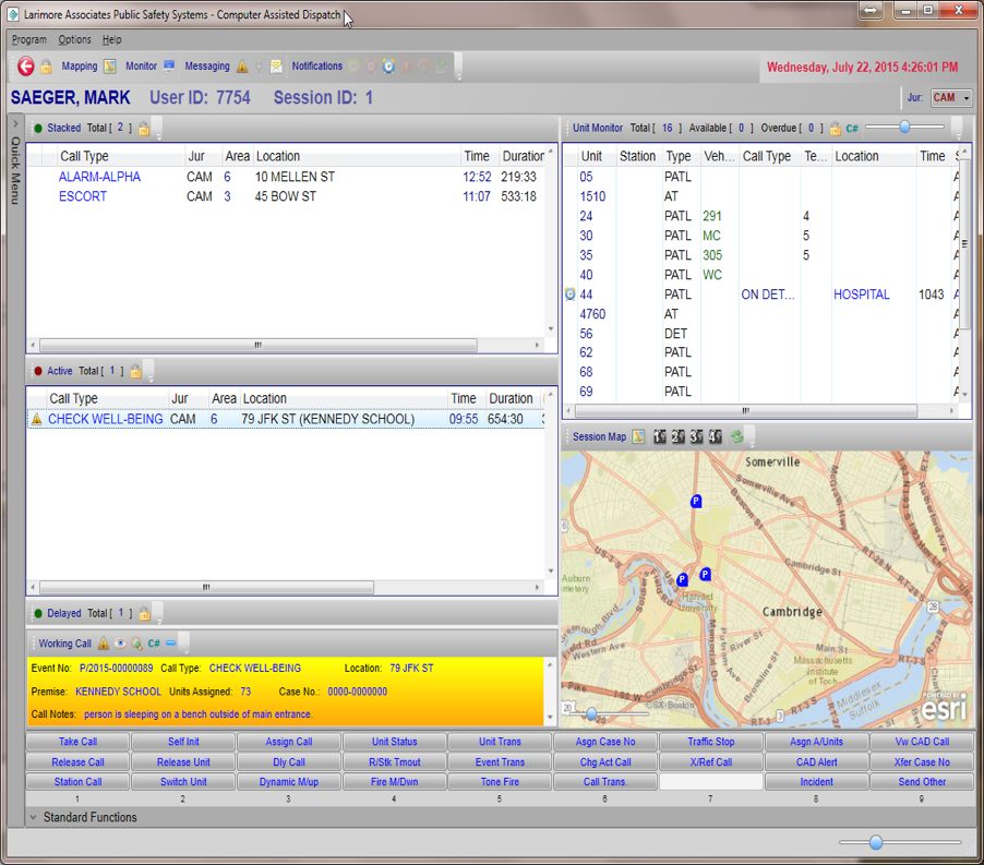 Computer Aided Design (CAD) Screen Shot