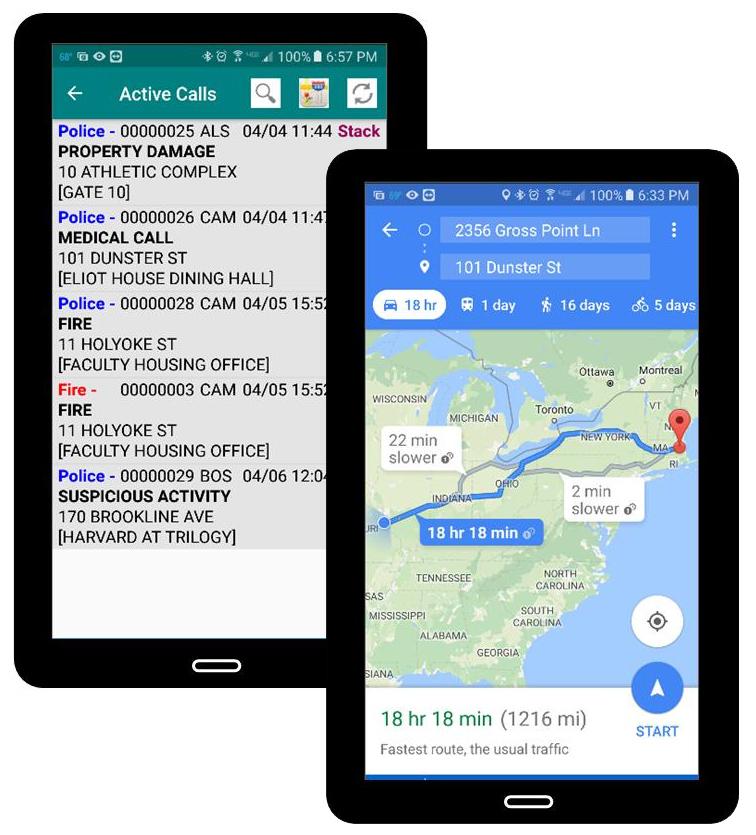 Mobile Options for Law Enforcement Public Safety Software